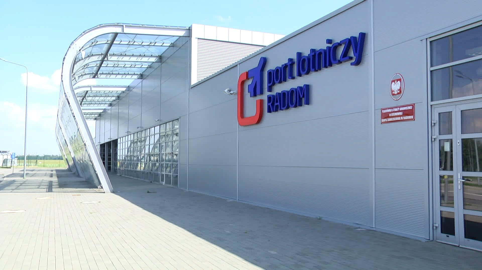 Dla kogo lotnisko w Radomiu? Wiceminister tłumaczy