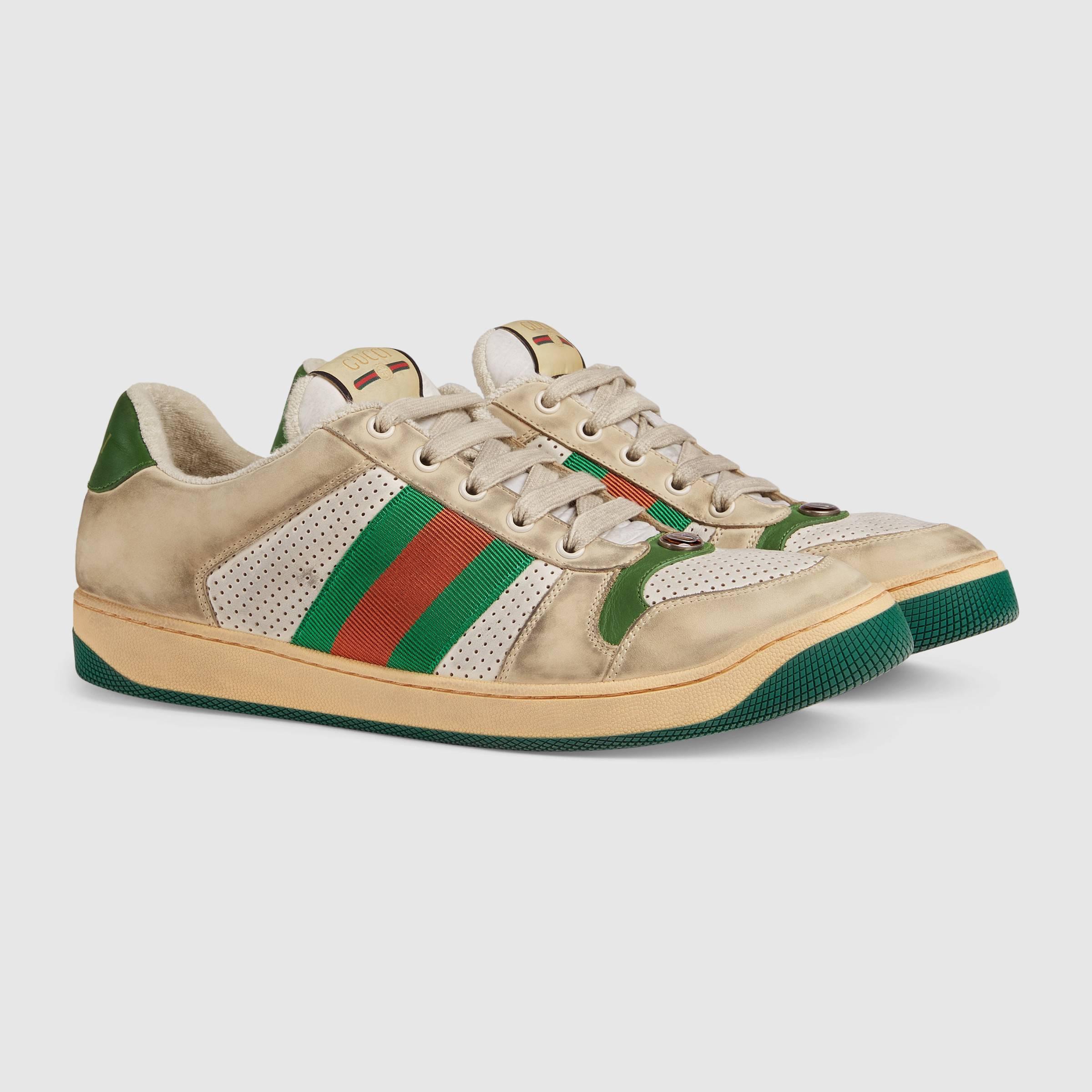 1e1888e345333 Nowe buty Gucci wyglądają na używane. Do kupienia za około 3300 zł | Ze  świata